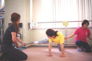 腰痛改善棒体操