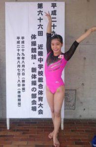 近畿中学 体操