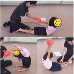 6歳こども姿勢改善トレーニング