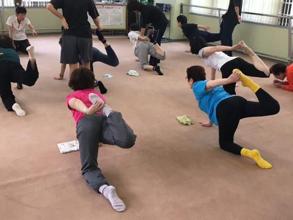 セミナースッキリ体操