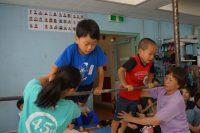 短期体操教室鉄棒