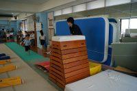短期体操教室跳び箱