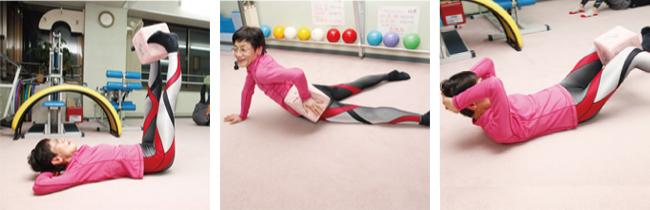 特徴1:心身ともに調和のとれた健康体に導く、森明子オリジナルのウェルネス体操