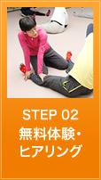 step2.無料体験・ヒアリング