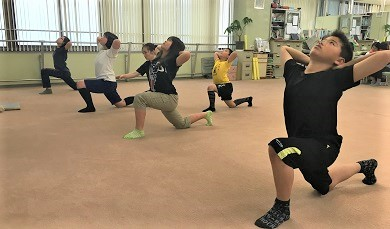 ジュニア姿勢・体幹トレーニングB(30分間のグループレッスン)