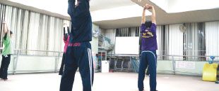 ジュニア体幹トレーニング