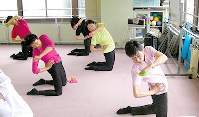 全身運動で血液循環を促進して、むくみや冷えも改善